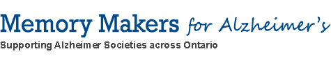 Memory Makers for Alzheimer's - Supporting Alzheimer Societies across Ontario